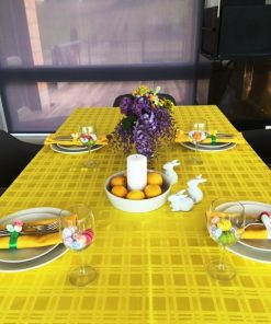 EASTER TABLECLOTH YELLOW