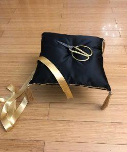 Ceremonijalno jastuče u crnoj boji