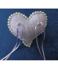 PAD FOR WEDDING RINGS HEART