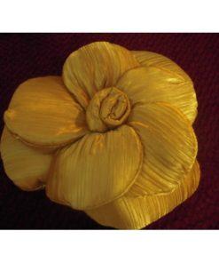 Jastuk za sedenje zlatni cvet