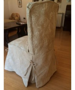 CHAIR COVER BEIGE ALNADA