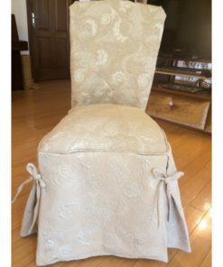 CHAIR COVER BEIGE