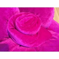 Alnada unique pillows Pink roses