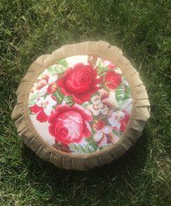 Alnada vintidž plišani jastuk sa pliš pliseom