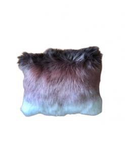 Dekorativni jastuci od eko krzna Ombre