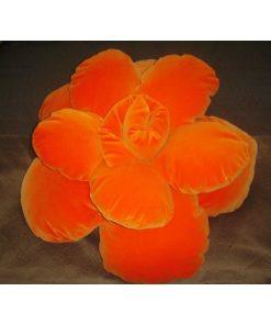 Jastuk za sedenje narandžasti pliš