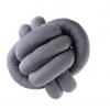 Dekorativni klupko jastuci Veći u sivoj boji