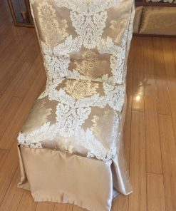 Brocade chair covers Crowns