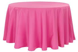 Okrugli pamučni stoljnjak Roze