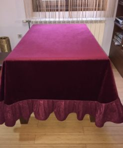 Plush tablecloth Alnada