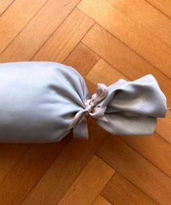 Promajno jastuče Bež mebl braon i gajtan vezivanje