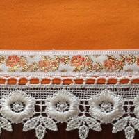 Šustikla narandžasti pliš detalj