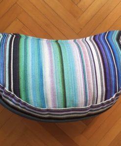 Alnada jastuk za sedenje polumesec pruge
