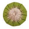 Dekorativni okrugli jastuci Zeleni mebl sa satenom