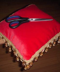 Ceremonijalno jastuče Crveno