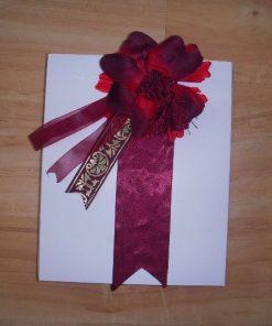 Dekorativna kutija bordo ruža