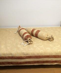 Mebl prekrivači za krevet samac Bež braon
