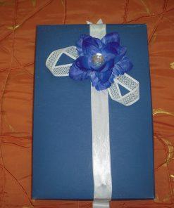 Poklon kutija plava orhideja