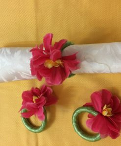 Prstenovi za salvete orhideja