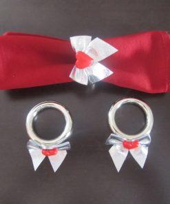 Prstenovi za salvete srca