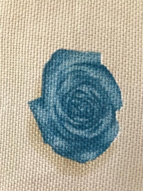 Prekrivači za krevet samac Detalj ruža