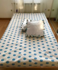 Prekrivači za krevet samac Plave ruže