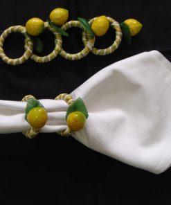 Prstenovi za salvete Limun