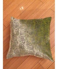 Ukrasni jastuk zmijska koža