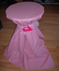 stoljnjak za koktel sto roze