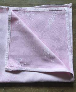 Alnada pamučne salvete Roze detalj poruba