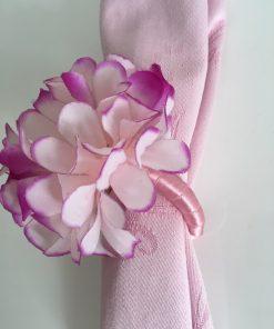 Alnada prstenovi za salvete Hortenzija detalj