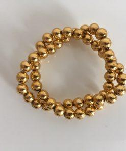 Alnada prstenovi za salvete Zlatne perle sitne