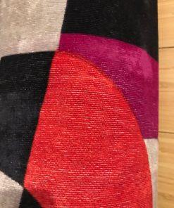 Alnada torbe za jogu Šareni pliš žersej detalj