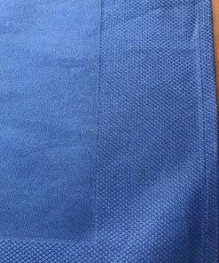 Damast salvete sa tkanom bordurom Tamno plave detalj