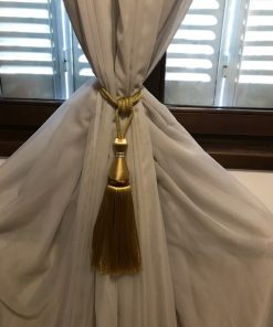 Držači zavesa Svileni gajtan sa metalnim prstenom