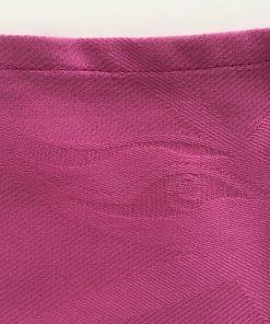 Pamučna salveta tamno roze Detalj