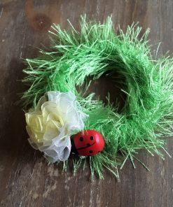 Prsten za salvete Prolećni detalj bubamara