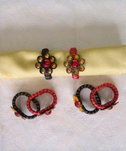 Prstenovi za salvete Metalni ornament