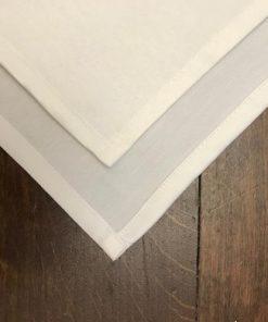 Restoranske salvete beli damast teflon