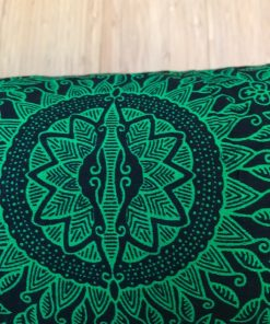 Torbe za jogu Bali zelena detalj