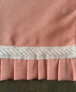 raner široki kajsija draper sa krunicama plise