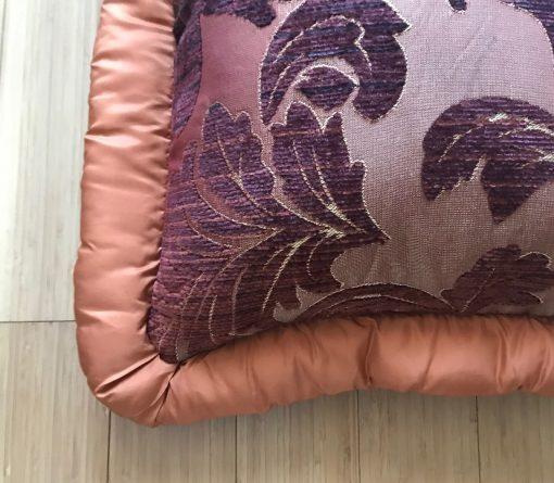 AlNada dekorativni jastuci Mebl u bojama jeseni vatirana ivica
