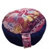 Okrugli veliki joga jastuci za meditaciju Beli ždral