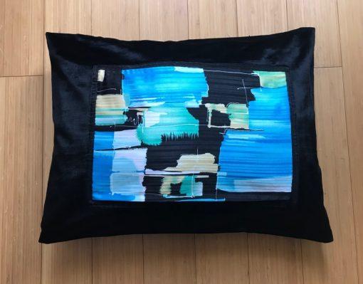 Alnada moderni deko jastuci Apstraktni plavi motiv