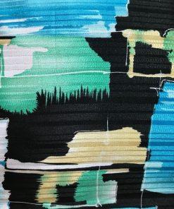 Alnada moderni deko jastuci Apstraktni plavi motiv detalj