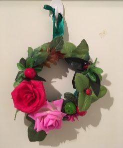 Dekorativni venac za vrata Ruže