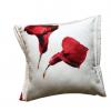 Dekorativni jastuci sa crvenim cvetovima Kale