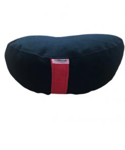 Joga jastuci za meditaciju Polumesec crni
