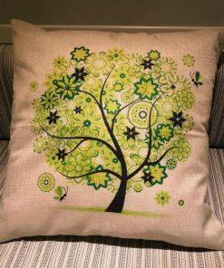 Jastuci za jogu Drvo života Zeleno