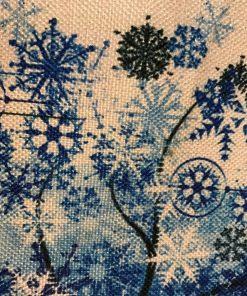 Joga jastuci Drvo života Plavo detalj
